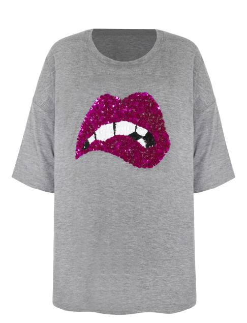 Lips tee (YES, I know this isn't a sweater but it's SEQUINNED)